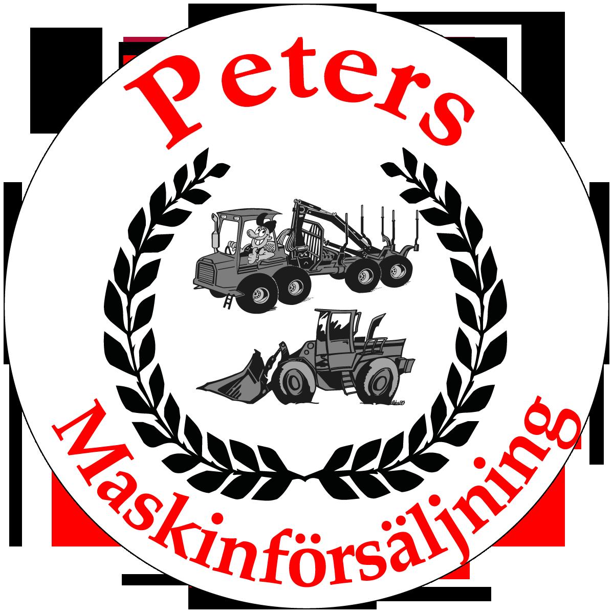 Peters Maskinförsäljning Logo